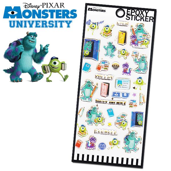 ギフトラッピング用品, シール・ステッカー  Disney Pixar Monsters University RCP