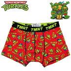 ティーンエイジ・ミュータント・ニンジャ・タートルズ ボクサーブリーフ メンズ ロゴちらし/レッド Teenage Mutant Ninja Turtles アメコミ キャラクター アンダーウェア 下着 【RCP】
