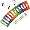 セヴィミニミュージックセンターお誕生日や入園プレゼントに、音の出るおもちゃ楽器テーブル【知育玩具】楽器玩具