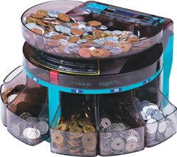 電動小型硬貨選別機コインソーターSCS-200