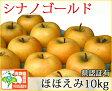 シナノゴールド ほほえみ(訳あり) 約10kg 県認証有り りんご リンゴ 家庭用 減農薬栽培 特別栽培農産物 青森 国産 認有り