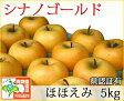 シナノゴールド ほほえみ(訳あり) 約5kg 県認証有り りんご リンゴ 家庭用 減農薬栽培 特別栽培農産物 青森 国産 認有り