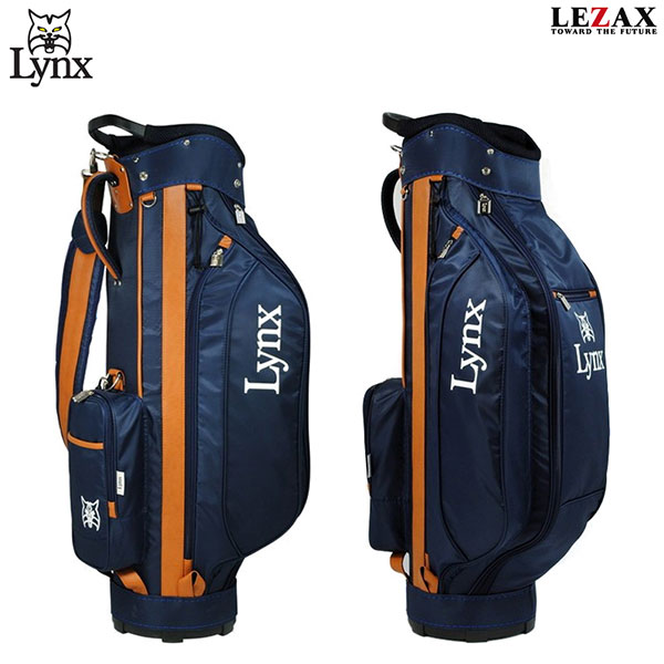 00ceb68bcc LEZAX -レザックス-Lynx(リンクス)キャディバッグ【LXCB-8251】【