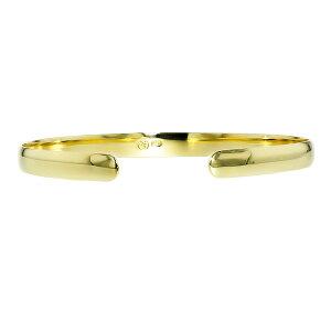 バングルK185mm幅レディース用-K18K1818金ゴールドイエローゴールドバングル腕輪シンプルアクセサリー