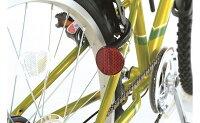 【イオンバイクのオススメ】メテオストリームカゴ付ジュニアスポーツサイクルグリーン22型外装6段変速【子供用自転車】【イオン】【自転車】