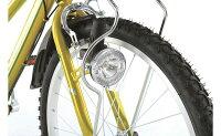 【イオンバイクのオススメ】メテオストリームカゴ付ジュニアスポーツサイクルブルー26型外装6段変速【子供用自転車】【イオン】【自転車】