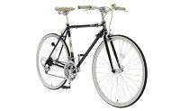 460サイズブラック700x25C外装14段変速【通勤】【通学】【クロスバイク】【イオン】【自転車】