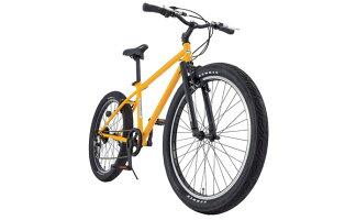 【ハマーHUMMER】ファットバイクTANK3.0イエロー26型外装6段変速【マウンテンバイク】【イオン】【自転車】