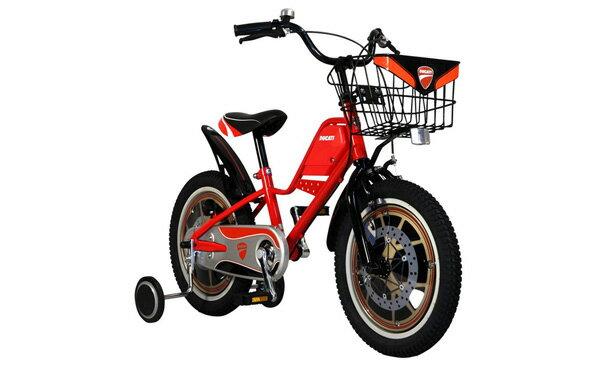 6/4 20:00~エントリーでポイント7倍!【お店受取り】 ドゥカティ (DUCATI) 16インチ キッズバイク TDK-163 レッド 16型 変速なし 子供用自転車