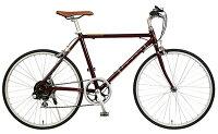 【ローバーROVER】クロスバイクAL-TR246レッド24型外装6段変速【通勤】【通学】【クロスバイク】【イオン】【自転車】