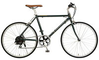 【ローバーROVER】クロスバイクAL-TR246グリーン24型外装6段変速【通勤】【通学】【クロスバイク】【イオン】【自転車】