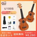 【初心者セット8点!チューナー付き!】ELVIS・U100S...