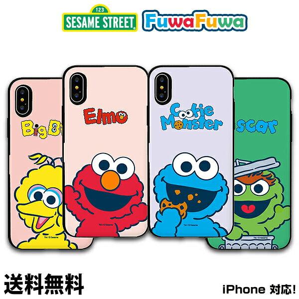 スマートフォン・携帯電話アクセサリー, ケース・カバー SESAME FuwaFuwa Card Door Bumper CaseDM iPhone x iPhoneiPhone iPhoneX iPhone8 iPhone7 iPhone6 6 6s 7 8 X