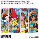 DISNEY Princess Stained Glass Case 【送料無料】 ディズニー キャラクター プリンセス 白雪……