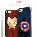 Marvel Metal Slide Case 【DM便送料無料】 iPhonexケース マーベル 公式 キャラクター キャプ……