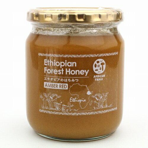 エチオピアのはちみつ 蜂蜜 アンバーレッドシャカ産 お徳用 600g
