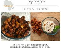 ゴールデンベリー【POKPOK】マダガスカル食用ドライほおずき45G