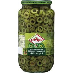海外食品 おいしい お取り寄せ 希少 レア 人気 業務用 クレスポ グリーンオリーブスライス 460g 6セット 072011