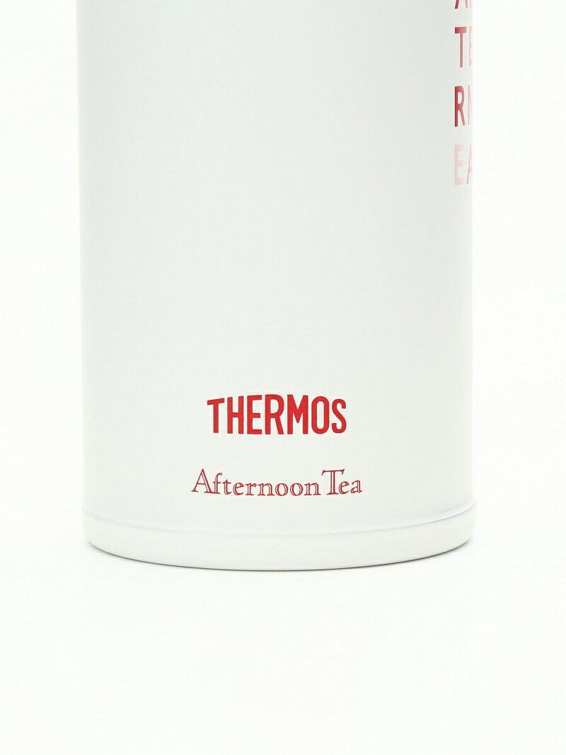 [Rakuten BRAND AVENUE]サーモス/ロゴ柄ワンタッチスリムボトル 400ml Afternoon Tea アフタヌーンティー・リビング 生活雑貨