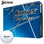 ダンロップ SRIXON スリクソン AD SPEED ADスピード ゴルフボール 1ダース(12球入り) ホワイト [2020年モデル] 【あす楽対応】