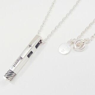 シルバー925メンズネックレス-ペアとしても使えるネックレス。