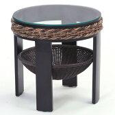 【送料無料】人気のアジアン家具 ガラストップ センターテーブルT145AT