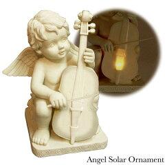 天使をイメージした、エンジェルソーラーオーナメントです。ガーデンライト LEDライト 玄関 照...