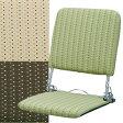 【送料無料】日本製で昔ながらの形をしたコンパクトな折りたたみ座椅子リクライニング座椅子 座いす YS-424