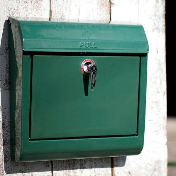 送料無料 アメリカンスタイルのU.S Mailbox 壁掛けポスト 文字無 郵便受け TK-2076 ポスト 壁付け 壁掛け 壁掛 郵便ポスト POSTアートワークスタジオ