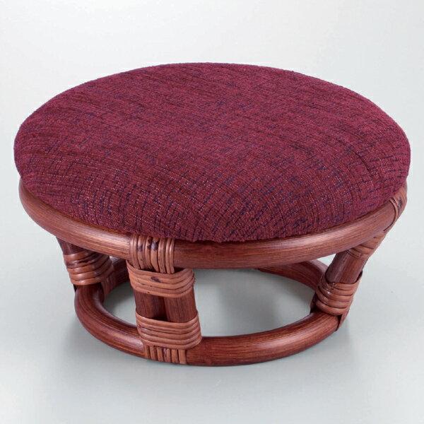 代引き不可商品 【送料無料】天然の素材を使用したお洒落で上質な籐の正座座椅子正座椅子 座椅子 籐椅子 ラタン座椅子 SZ-207D