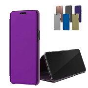 SamsungGalaxyS10/S10+/S10eクリアケース/カバー2つ折り液晶保護パネル半透明スタンド機能ギャラクシーS10/S10+/S10e手帳タイプケース/カバーおしゃれおすすめアンドロイドスマフォスマホスマートフォンケース/カバー