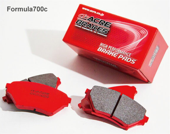 ブレーキ, ブレーキパッド ACRE Fomula700C(700C 180SX91.198.12RPS13KRPS13200 0cc