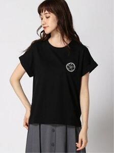 [Rakuten Fashion]【SALE/40%OFF】To b. by agnes b. /(W)W984 TS ワッペンプリントTシャツ To b. by agnes b. アニエスベー カットソー Tシャツ ブラック ホワイト【RBA_E】