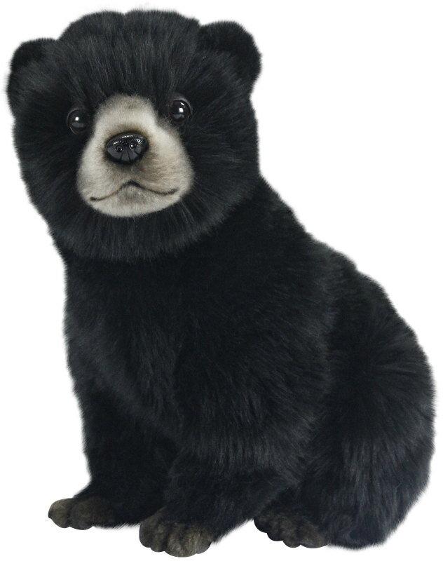 ぬいぐるみ・人形, ぬいぐるみ HANSA 7040 ()25 25cm BEAR CUB BLACK BH7040 KOESEN