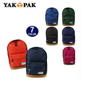 YAKPAK ヤックパック バッグ リュック YP0005 底スエード デイバッグ パック バックパック 全7カラー 男女兼用 ag-728300