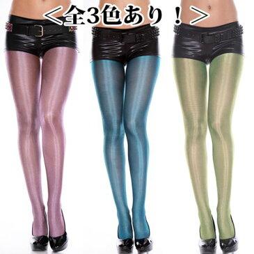 全3色あり パンティストッキング シャイニーメタリック タイツパンティストッキング ML7180