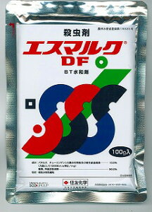 【住友化学】微生物型チョウ目殺虫剤 エスマルクDF BT水和剤 100g