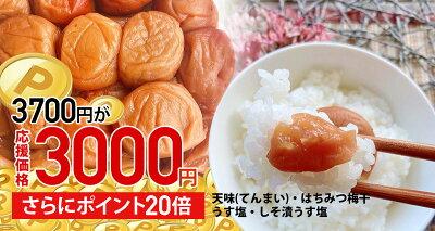梅干し3000円