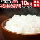 【送料無料】令和元年度産 山形県産 お米あきたこまち 玄米 10kg(5kg袋×2)【白米・無洗米・分づき】