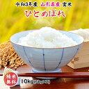 新米 米 玄米 10kg ひとめぼれ 5kg×2袋 令和3年産 山形県産 精米無料 白米 無洗米 分づき 当日精米 送料無料