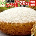 【送料無料】【当日精米】令和2年度産 山形県産 お米つや姫