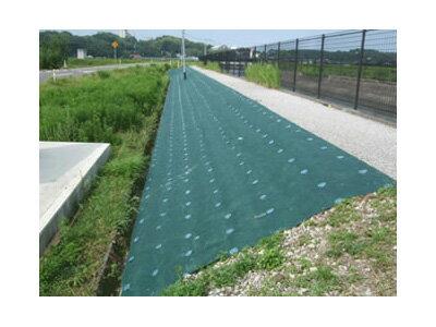 デュポン防草シート用アンカーピンセット15cmピン・防草ワッシャー(グリーン)各10個入×4袋入