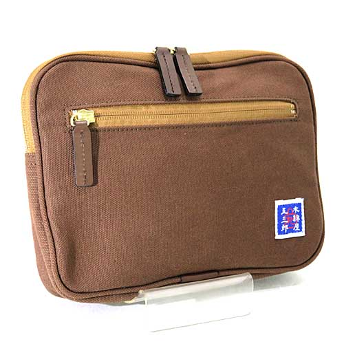 d7900bf0976f 木和田 豊岡製鞄 木綿屋五三郎(もめんやごさぶろう)ポシェット 横型