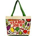 TRADER JOE'S(トレーダージョーズ) くだもの&野菜デザイン エコバッグ / ショッピングバッグ TJ-VEGETABLE n60527