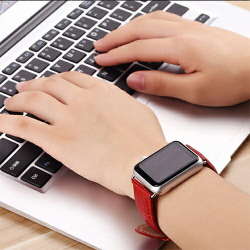 Apple Watch バンド レザー ベルト 42mm 38mm 本革 レザーバンド SERIES1 SERIES2 SERIES3 ワニ型押し レザーベルト 本革バンド 本革ベルト アップルウォッチ applewatch