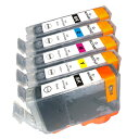 BCI-7e+9/5MP 5色セット BCI-9PGBK インクカ...
