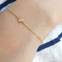【新作】ダイヤモンドブレスレット「Granata-グラナータ-」K18ゴールド<H~Fカラー/SIクラス>