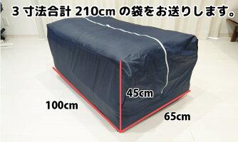 袋サイズは3辺合計210cmのメガサイズ!