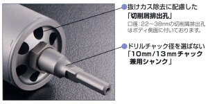 【ユニカ】単機能コアドリルE&S-ALC用