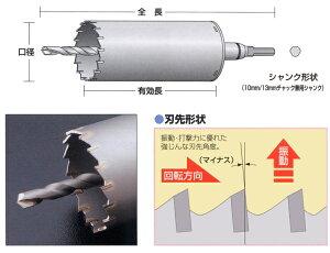 【ユニカ】単機能コアドリルE&S-振動用
